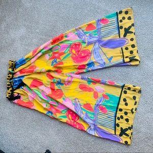Ken done art and designs floral pants